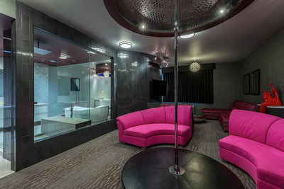 Taboo suite at Applause Hotel by CLIQUE, Calgary Airport