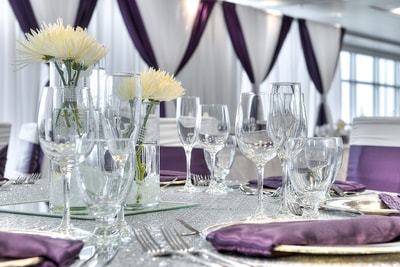Wedding venue space at Applause Hotel by CLIQUE, Calgary Airport
